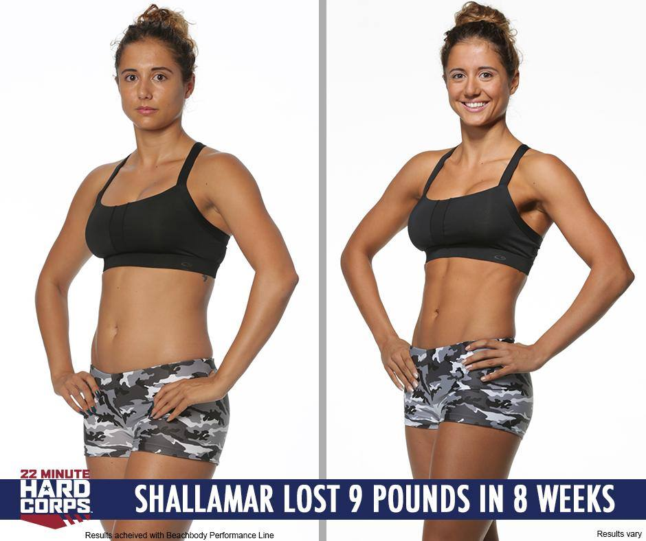 22 Minute Hard Corps Before and After Photo 1